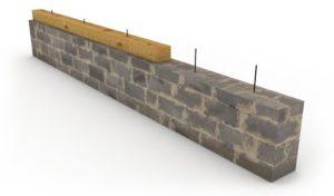 Крепление бруса к кирпичной стене