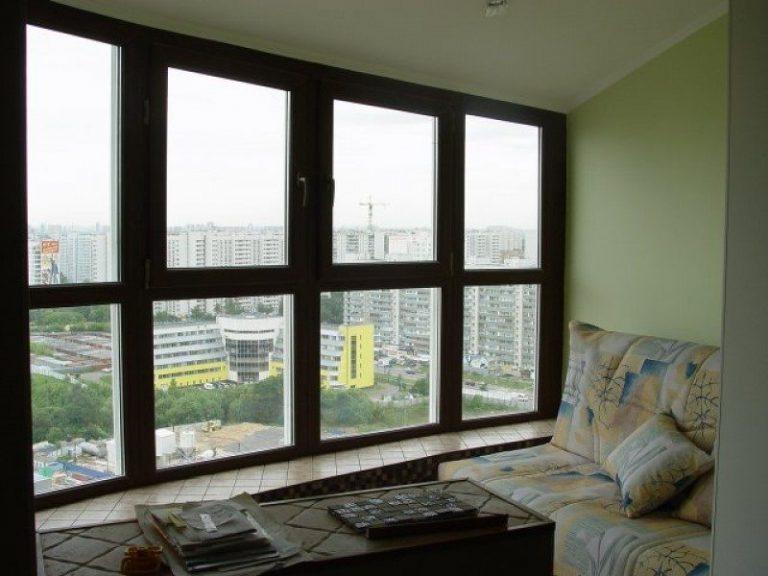 Панорамное окно на балкон или лоджию: варианты решений