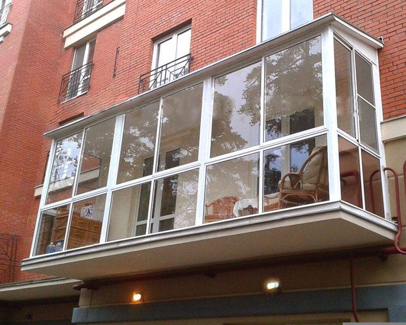 Панорамные окна лоджии