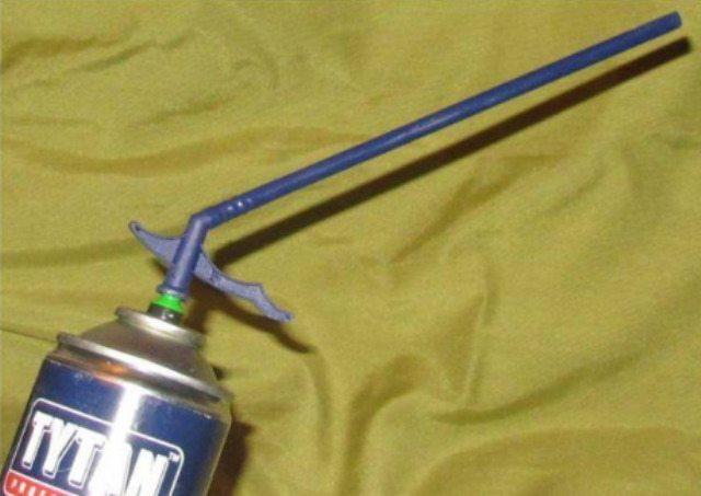 Баллон с пластиковой трубочкой