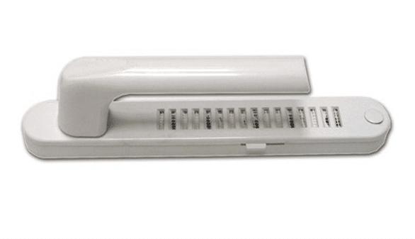 Рукоятка окна со встроенным вентиляционным клапаном