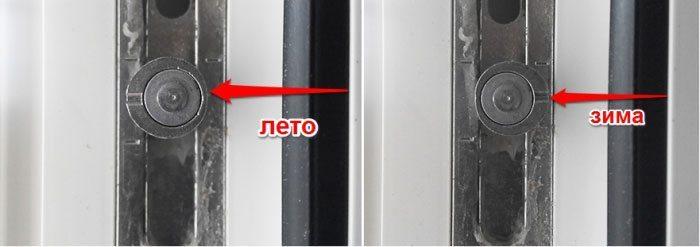 Регулировка пластиковых окон балконов