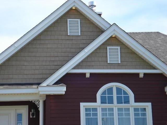 Деревянная решетка на крыше