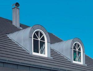 Арочная конструкция окна