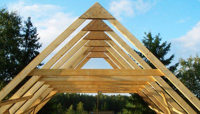 Деревянная стропильная система