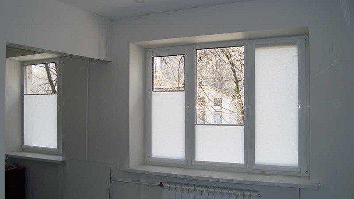 Роллеты на окна тканевые