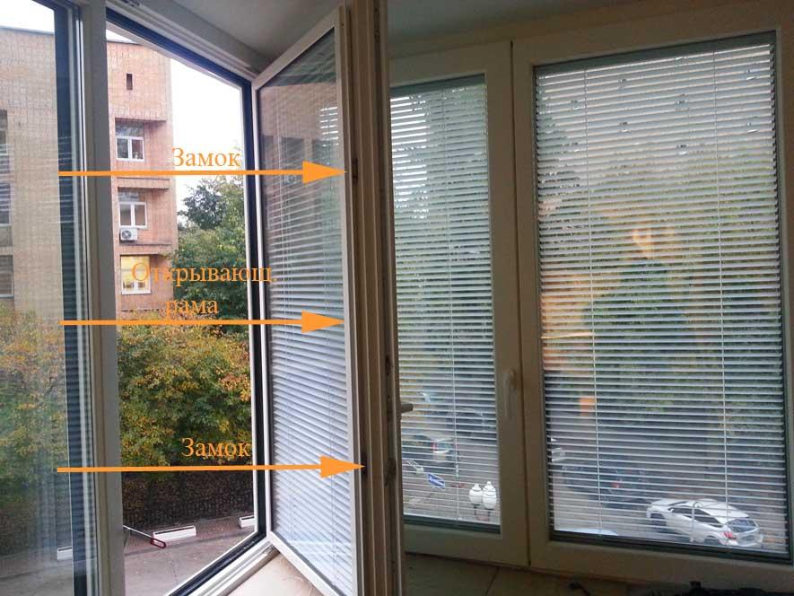 Инструкция по замерам межрамных горизонтальных жалюзи