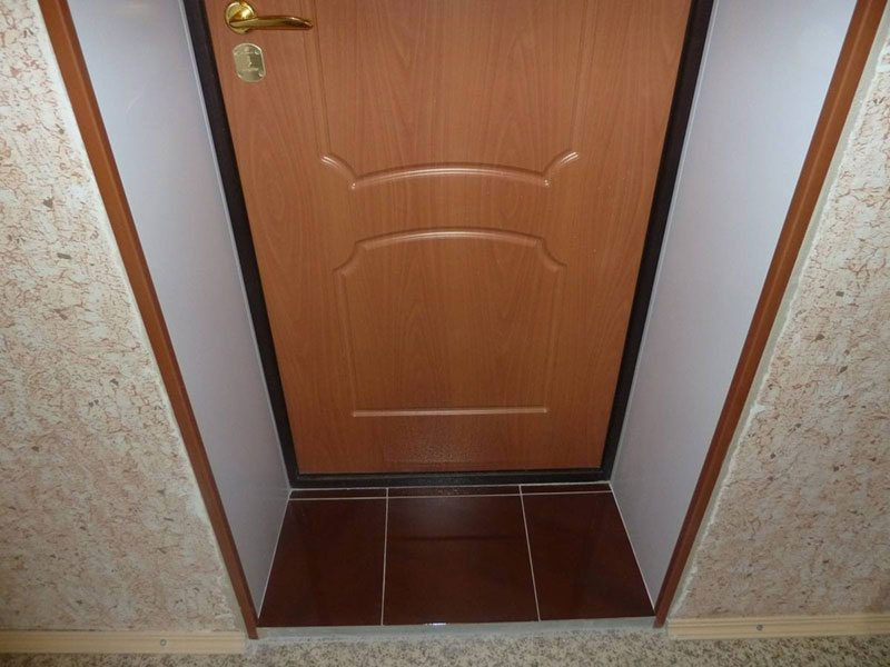 Откосы на дверь из гипсокартона