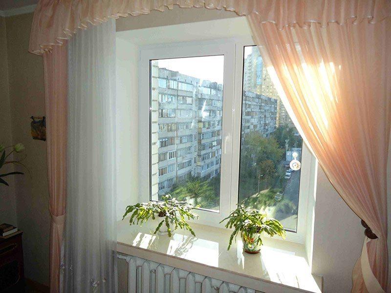Пластиковое окно с утепленными откосами