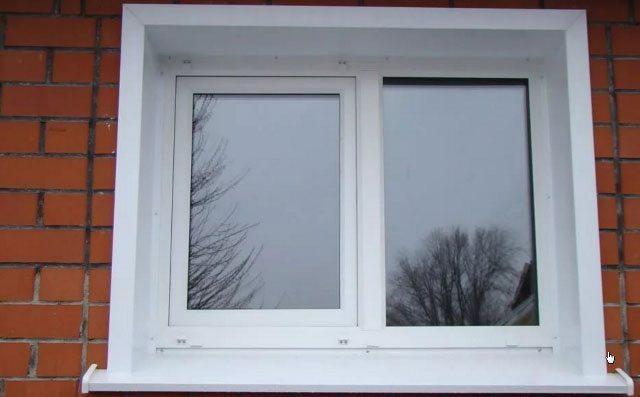 Металлические откосы для пластиковых окон