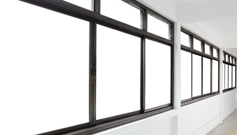 Монтаж алюминиевых окон