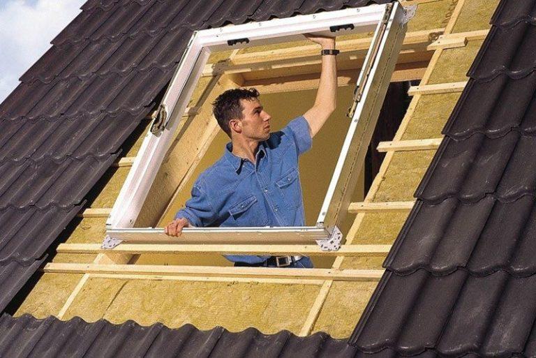 Мансарда своими руками окно в крыше 433