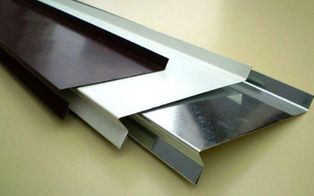 Отлив оконный из алюминия