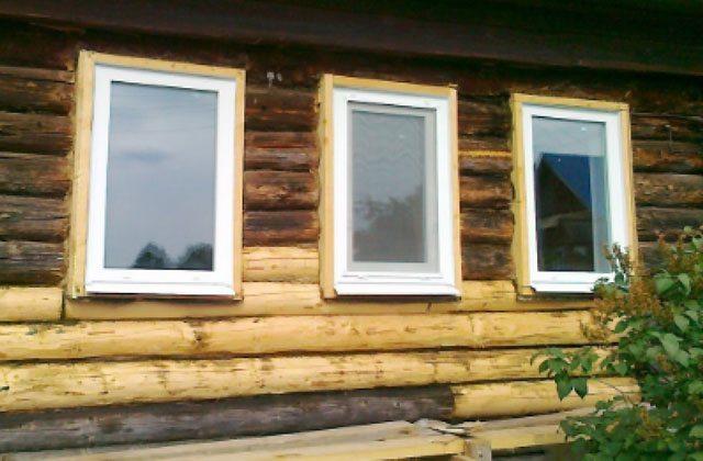 Замер и установка пластиковых окон в частном доме
