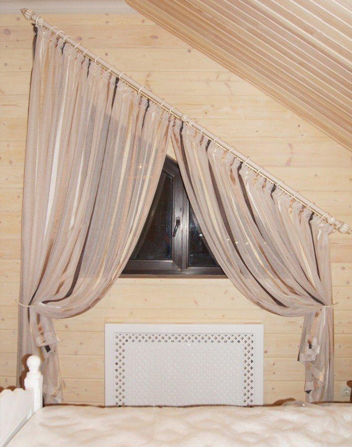 Гардины на мансардные окна