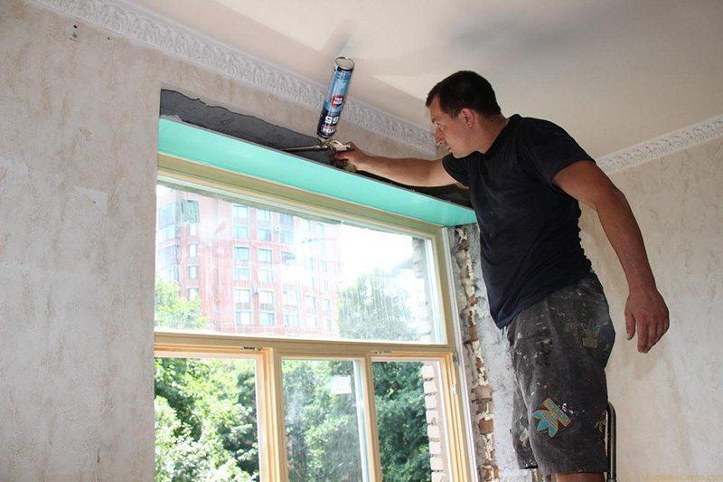 Теплоизоляция деревянного окна