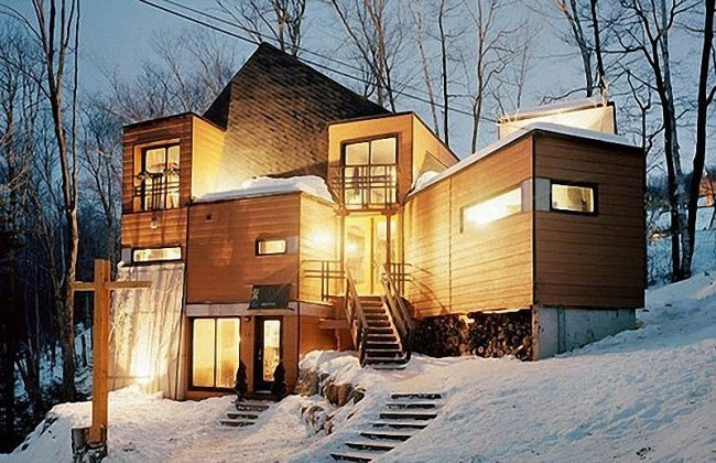 Эксплуатация дома из контейнеров в зимнее время