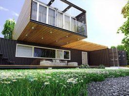 Дом из блок-контейнеров
