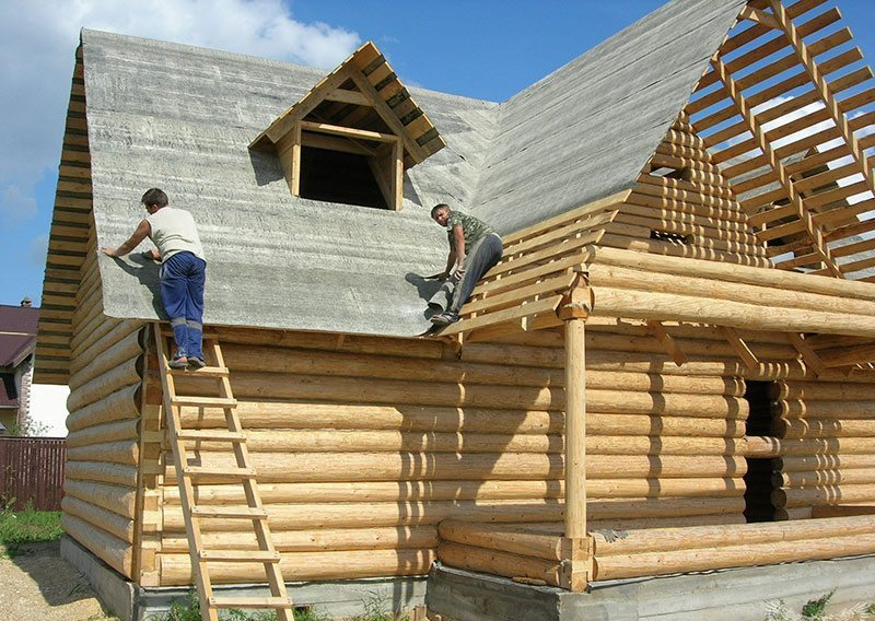 Строительство многощипцовой крыши