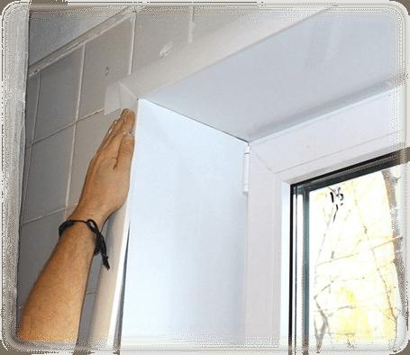 Установка наличников на окна для внутренней отделки