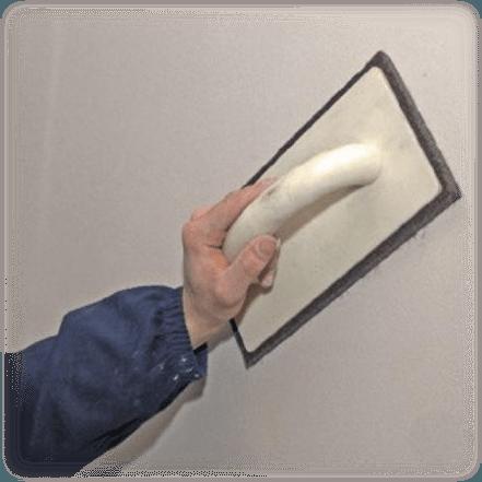 Шлифовка поверхности откоса