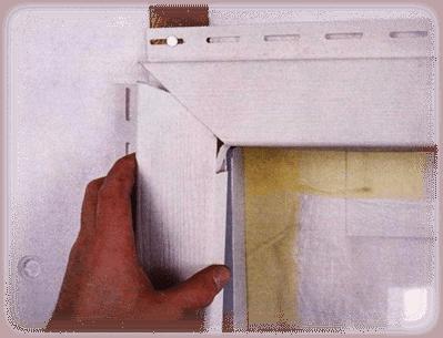 Оформление углов окна