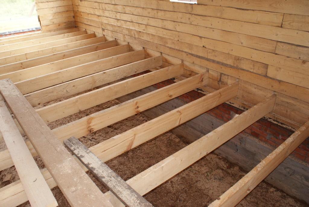 Строительство деревянного настила