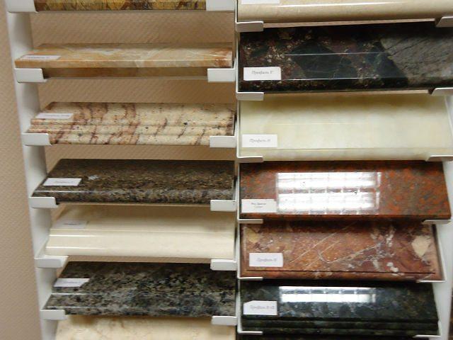 Виды натурального камня для изготовления подоконника