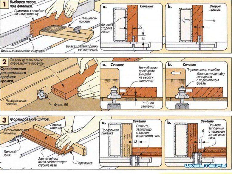 Схема фрезеровки 1