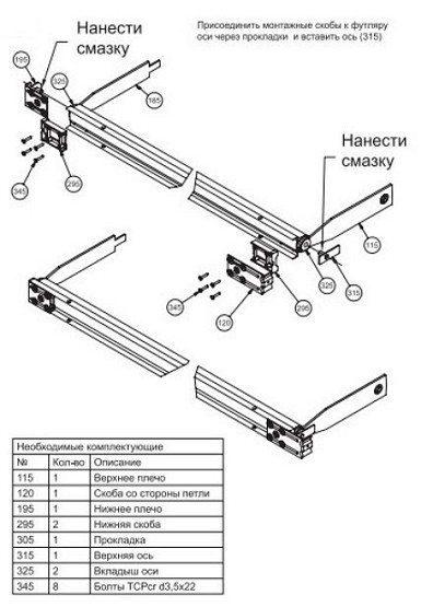 Смазка механизма рото-двери