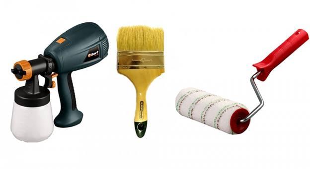 Инструменты для покрытия двери лаком
