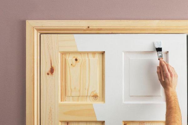 Malerei Türen Ist Besser Wasser Oder Acryl Zusammensetzungen Zu Verwenden,