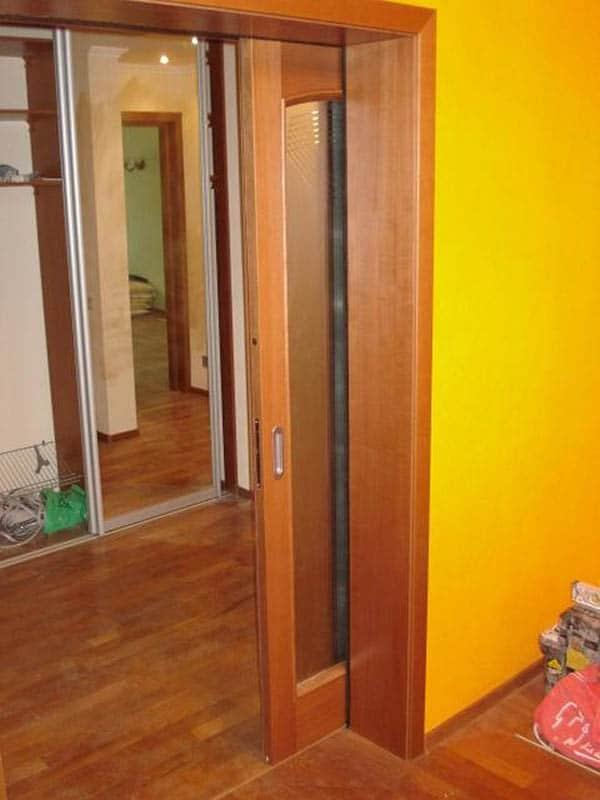 Кассетная раздвижная дверь