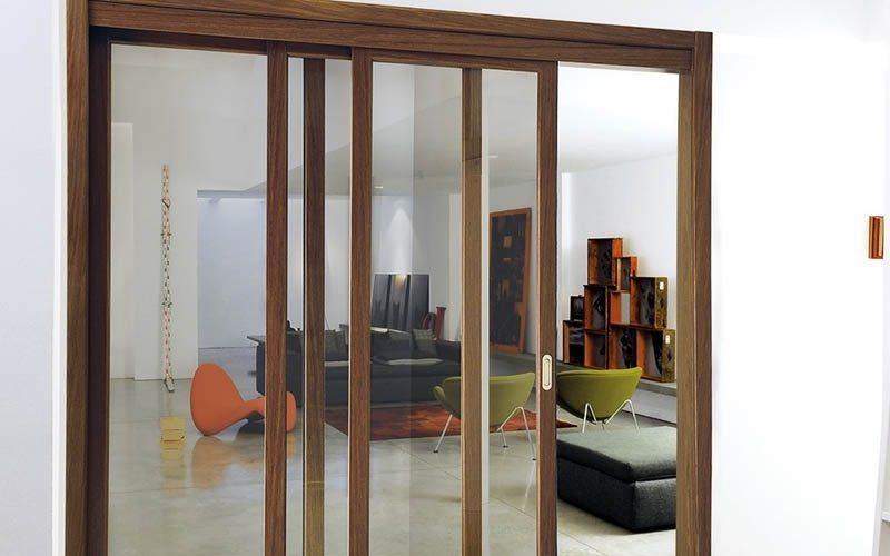 Каскадная дверь