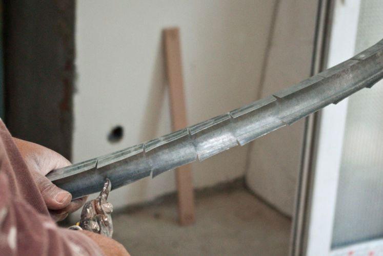 Изготовление металлической дуги