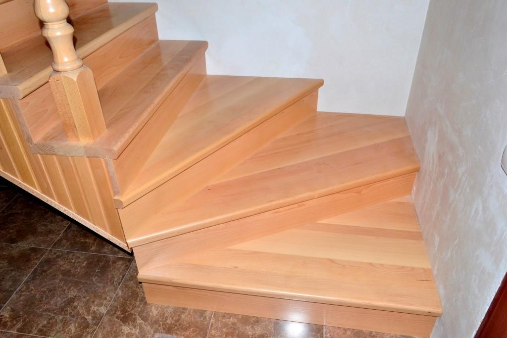 Деревянные ступени на лестницу своими руками 905