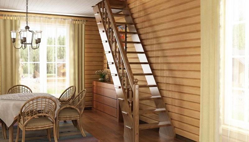 Виды и варианты дизайна лестниц на второй этаж для частного дома