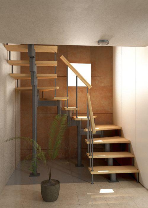 Маршевая модульная лестница