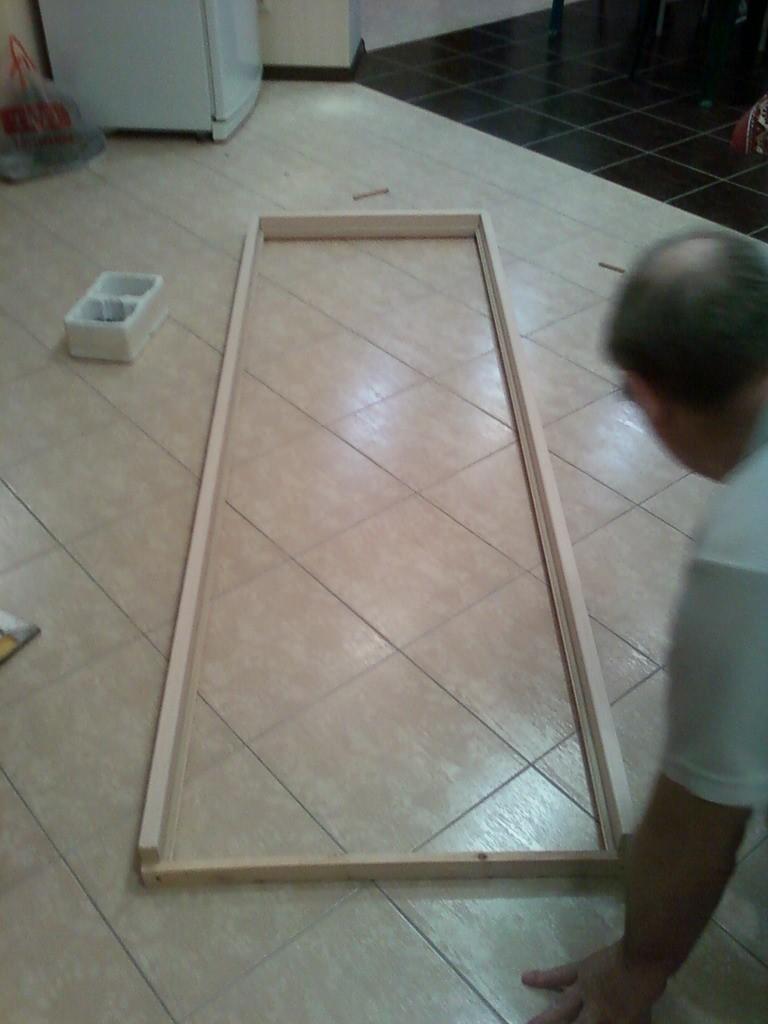 Короб на полу