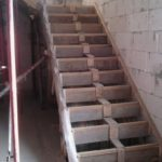 опалубка для маршевой лестницы