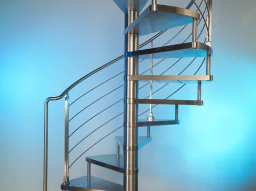 винтоваля лестница из нержавейки
