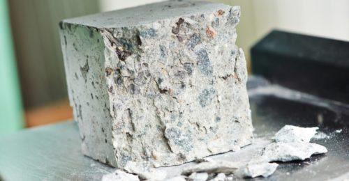 бетонный куб