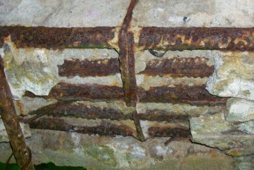 коррозия арматурного каркаса