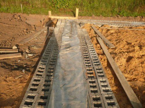 накрытие бетона пленкой