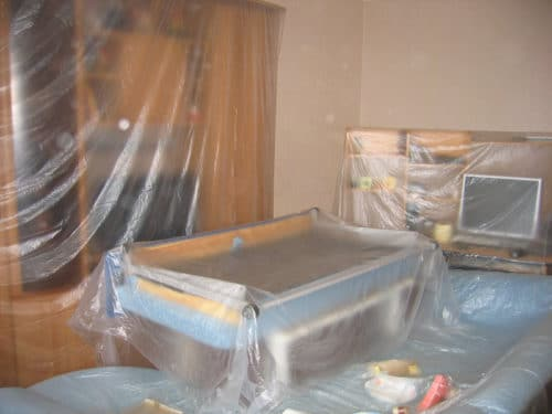 подготовка комнаты