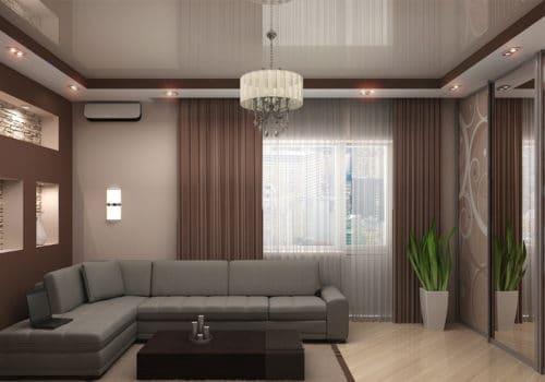 глянцевый пвх потолок
