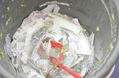 нарезка бумаги