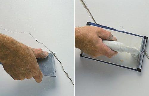 расширение трещин