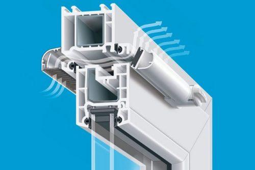 вентиляционный клапан в окне