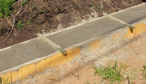 ленточный фундамент под забор готовый